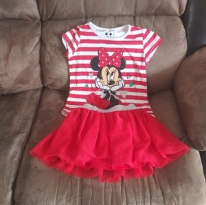 Disney Mickey Mouse skirt outfit
